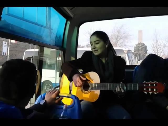 Gayane Avdalyan-1-Kanchum em ari ari, 2-amran gisher, 3-ashnan gisher, 4-tnen ilar-(xio-xio)-Sasunciner-(Sasno-Curer)