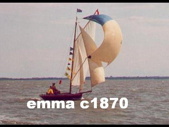 Emma, my 1870 New York Sloop gaffer