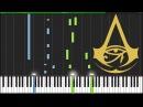 Ezio's Family - Assassin's Creed: Origins [Piano Tutorial] (Synthesia) chillOwlPiano