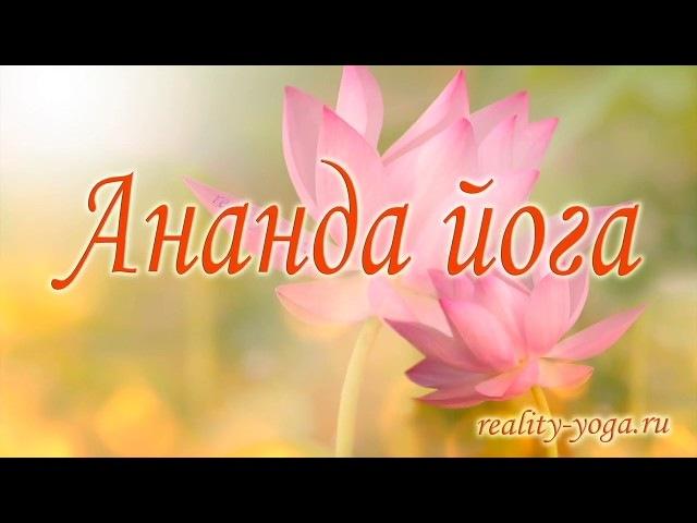 Ананда йога перед медитацией
