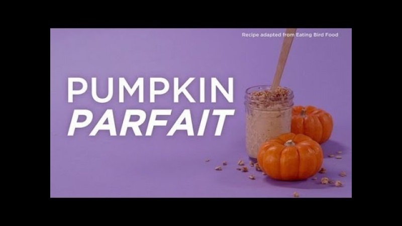 Рецепт тыквенного парфе в банке. Mason Jar Breakfast Pumpkin Parfait Recipe