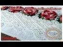 Barrado de Crochê Delicado Toalhas de Banho e Rosto Marcia Rezende Arte em Crochê