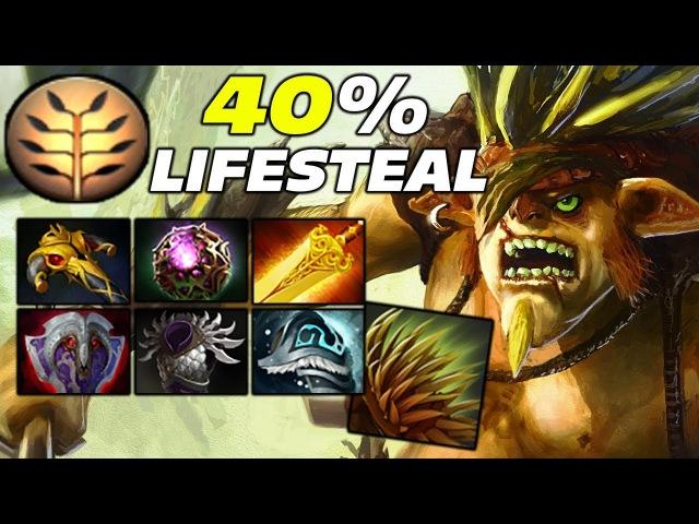 40 Lifesteal Bristleback by Noone Dota 2