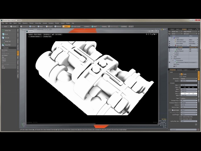 MODO's Occlusion Shader In-Depth -- Part 1