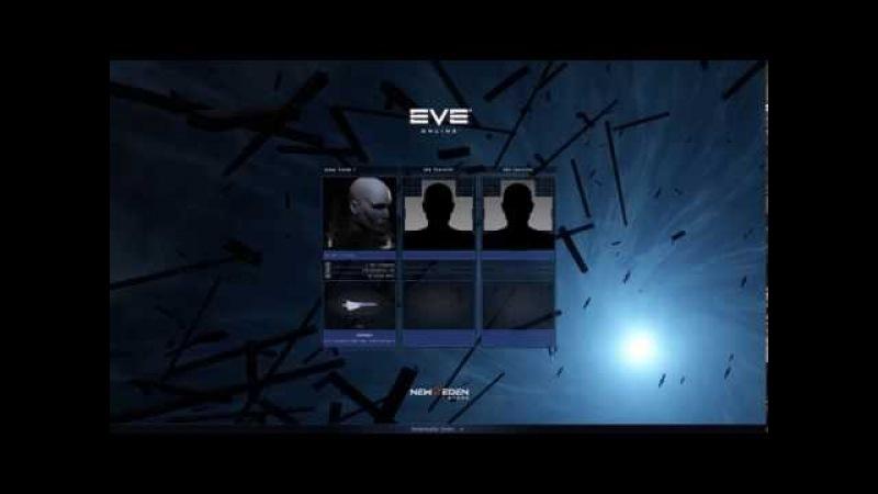 EVE Online Character Selection Screen Example: Nexus
