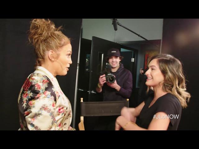 Jennifer Lopez SURPRISES SUPERFAN Chachi Gonzales | JLoNOW