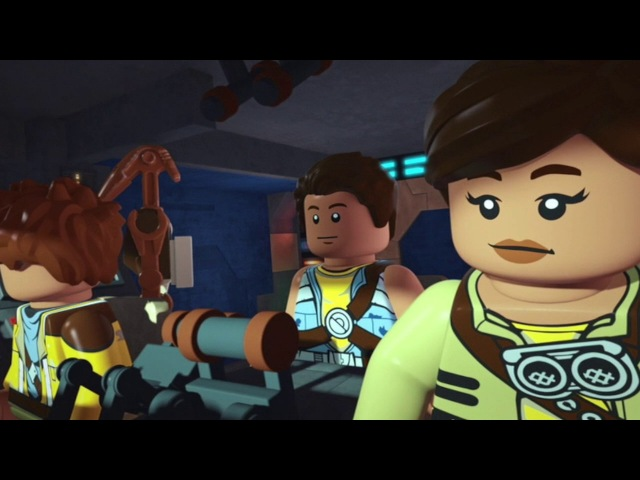 Приключения изобретателей - Сезон 1 - Серия 9 - Lego Star Wars