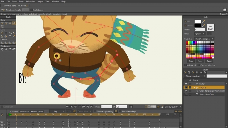 Complete Rigging Course Moho Anime Studio Udemy-6