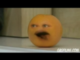 Апельсин достает яблоко (На русском)
