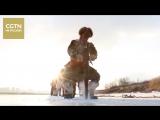 На севере Китая готовятся к Харбинскому фестивалю льда и снега