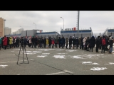 Акция памяти жертв авиакатастрофы АН 148 Москва-Орск