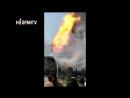 La torre de madera más alta de Asia es consumida por un voraz incendio