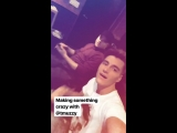 Алексей Воробьев: Готовим что-то сумасшедшее с Trevor Muzzy Instagram Stories Лос Анджелес 27.02.2018
