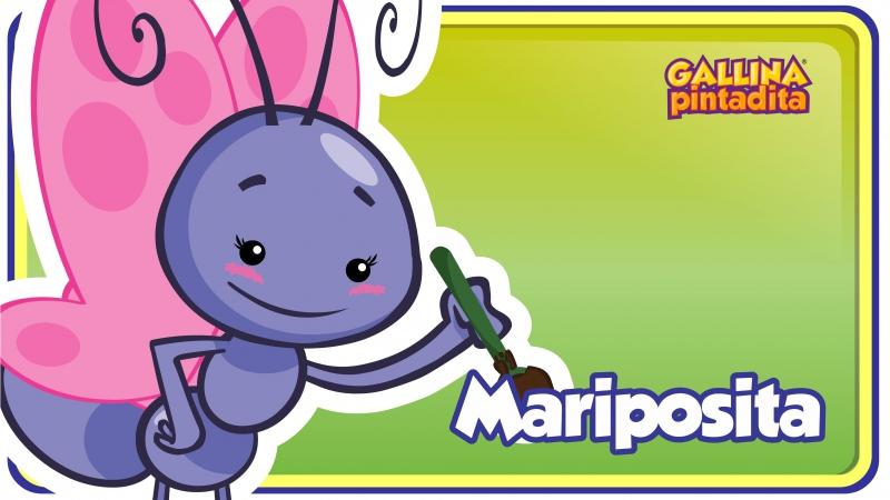 Mariposita - Gallina Pintadita 2 - Oficial - Canciones infantiles para niños y b