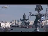 Российский ракетный фрегат Адмирал Эссен отправился в Сирию