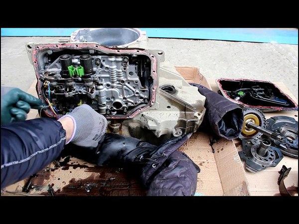 Автоматическая коробка передач из чего она состоит Mazda Demio 1 3 2004 Мазда Демио