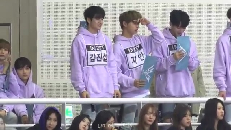 180115 IN2IT @ Idol Star Athletics Championships 2018