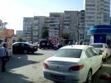 Звуки города. Челябинск. пр. Победы и ул.Молодогвардейцев.
