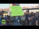 Strelkov takes а part in Fergusons protest