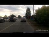 Авария легковушки с БТР в Кемерово. 07.08.2017г.