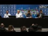 Пресс-конференция главного тренера сборной Бразилии по футболу Тите перед матчем с Россией