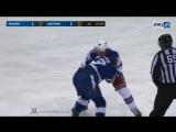 NHL Fight. Steven Kampfer vs J.T. Brown Nov. 2, 2017 Хоккейные драки 02.11.2017