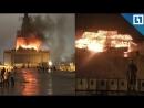 Пожар в первом павильоне ВДНХ