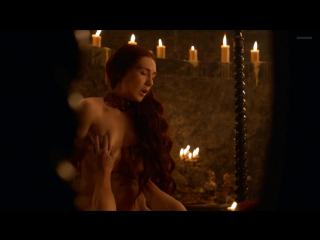 Кэрис Ван Хаутен (Carice van Houten) голая в сериале «Игра престолов» (2013)