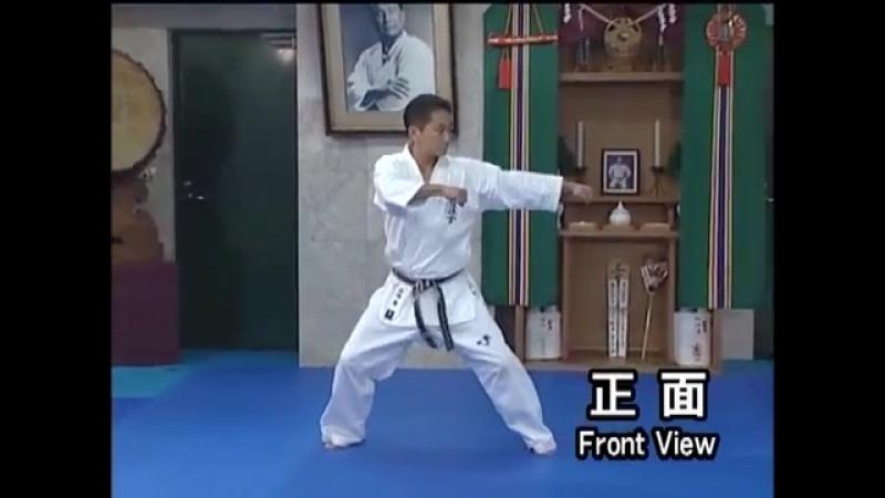 Tekki sono ni.(kata) Kyokushin karate