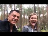 Павел Прилучный и Карина Разумовская съёмки Мажора 3!