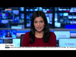 Sky News Christmas 2017 with Sam Naz