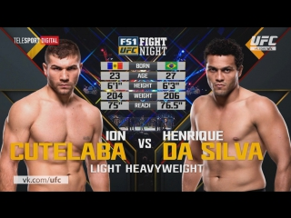 UFC Fight Night 110 Ион Куцелаба vs Луис Энрике да Сильва полный бой