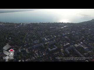 Аэросъемка города Таганрог (панорама) [Ultra HD 2160p]