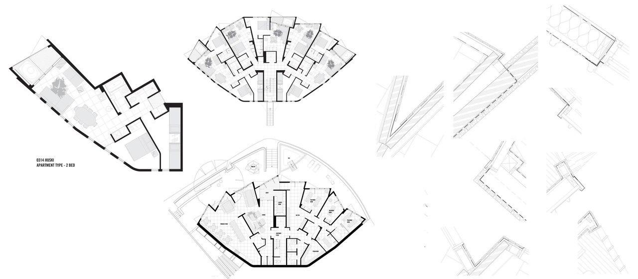 Huski Apartments / Elenberg Fraser Architecture