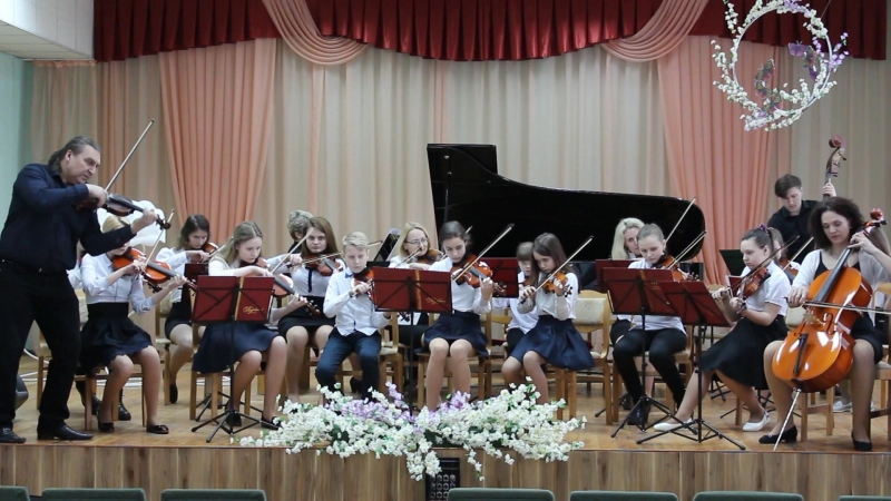 Камерный оркестр ДМШИ г. Барановичи. 03.2018