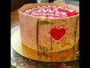 Торт три шоколада для любимого человека💗❤️💕💘💞💝😘😍💋