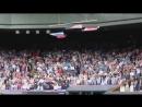 Флаг США рухнул под гимн России