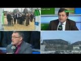 Массовая драка в прямом эфире российского ТВ: ведущий напал на украинского эксперта из-за слов о Донбассе