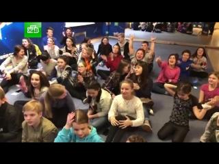 Жизнь на базе #ТыСупер: участники поют песню