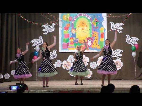 Танец Королева красоты - ст. группа / Чистик_отчётный 2016