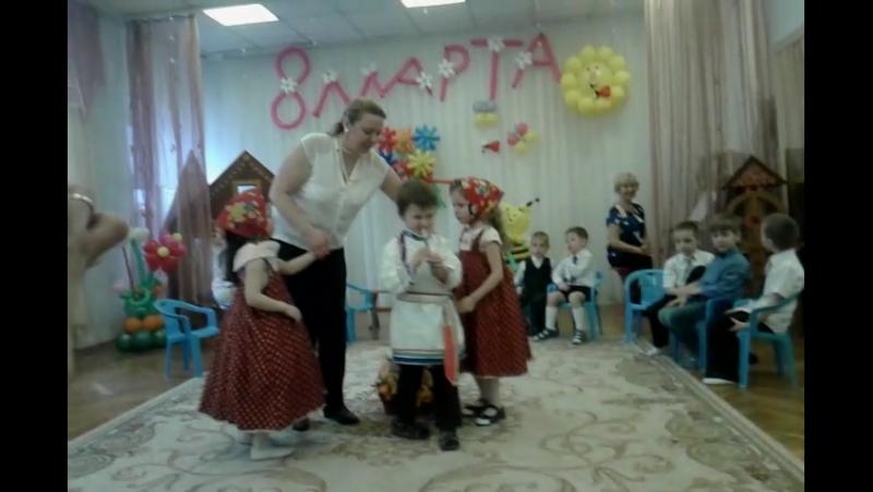 8 марта 2015 Утренник группа Солнышко (2)