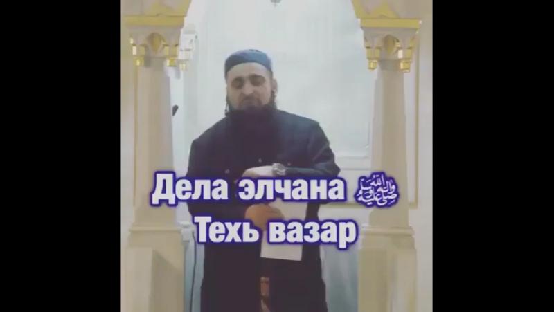 Дела Элчан Т1ехь Вазар