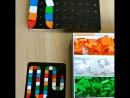 Мозаика Djeco. Ребенку на видео 3 года.  Как учить собирать мозаику - смотрим одноименное видео на Ютюб канале #узнайкаклучшедля