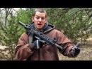 AR-15 в компоновке булл-пап Разрушительное ранчо Перевод Zёбры