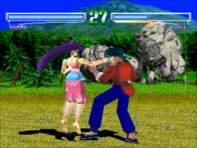 Ranma 1 2 Battle Renaissance Ranma playthrough part 2 Kuno Shampoo Ryu Rouge and Ending