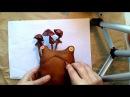 Шьем лягушку первый урок Примитивный мир Making a simple rag doll