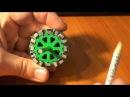 3D Printed Generator Halbach Array