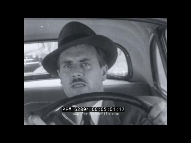 1950s DRIVER EDUCATION FILM