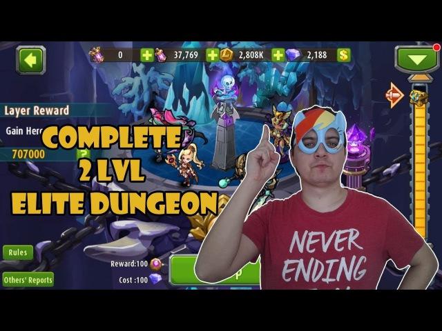 Magic Rush Heroes - 2 LVL Elite Dungeon