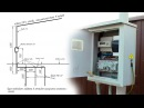 Расчёт контура заземления , Электрический щит на трубостойки